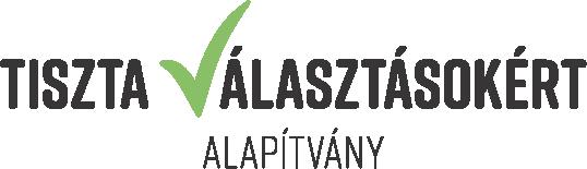 Tiszta Válaszásokért logo